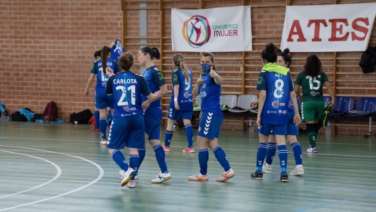 El equipo femenino del Bisontes Castellón peleará por subir a Primera División.