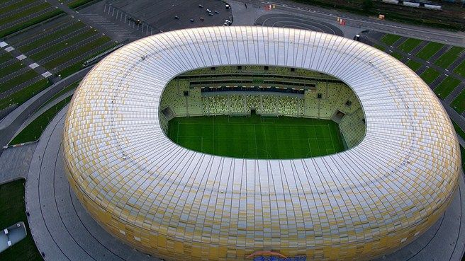 El Arena Gdansk, de la ciudad polaca de Gdansk, es la sede de la final de la Europa League 2021.