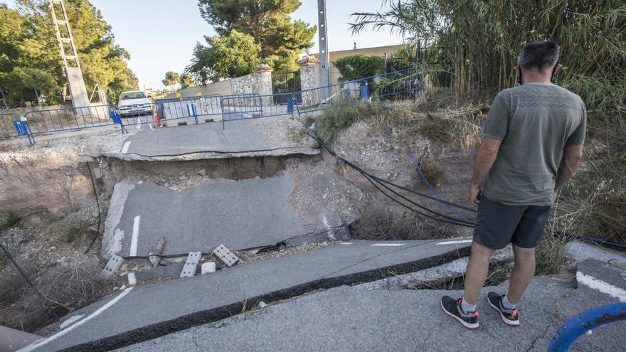 Luz verde a la reparación del camino de la Molineta, afectado por la DANA de 2019