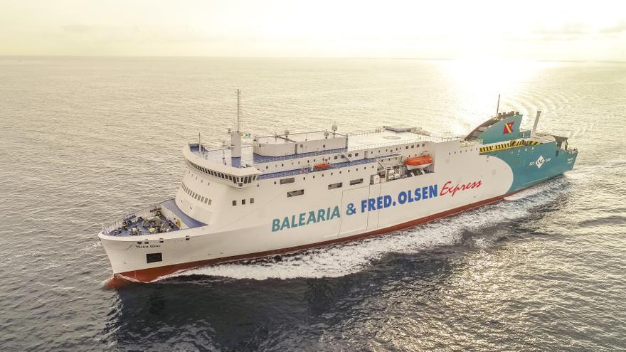 Olsen Express y Baleària unen Canarias y Huelva con dos conexiones semanales