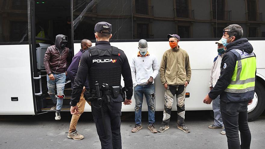 Nuevo golpe policial a la explotación laboral en el sector agrícola