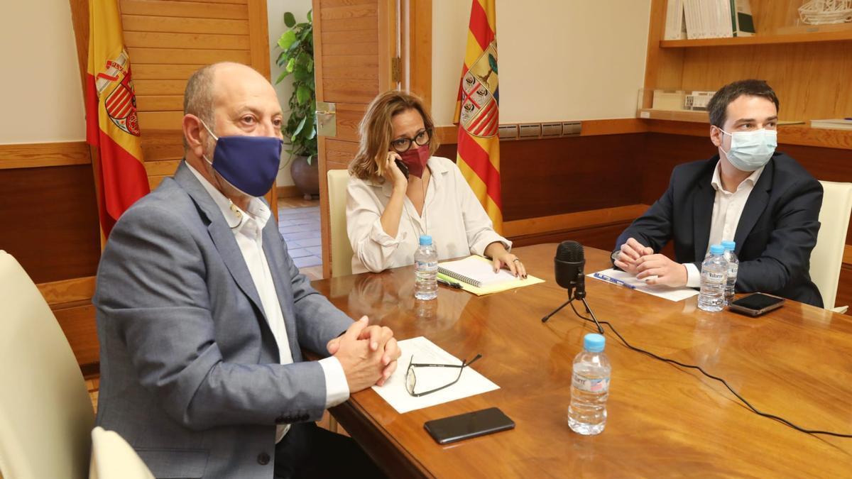 Mayte Pérez preside el consejo local ampliado por videoconferencia