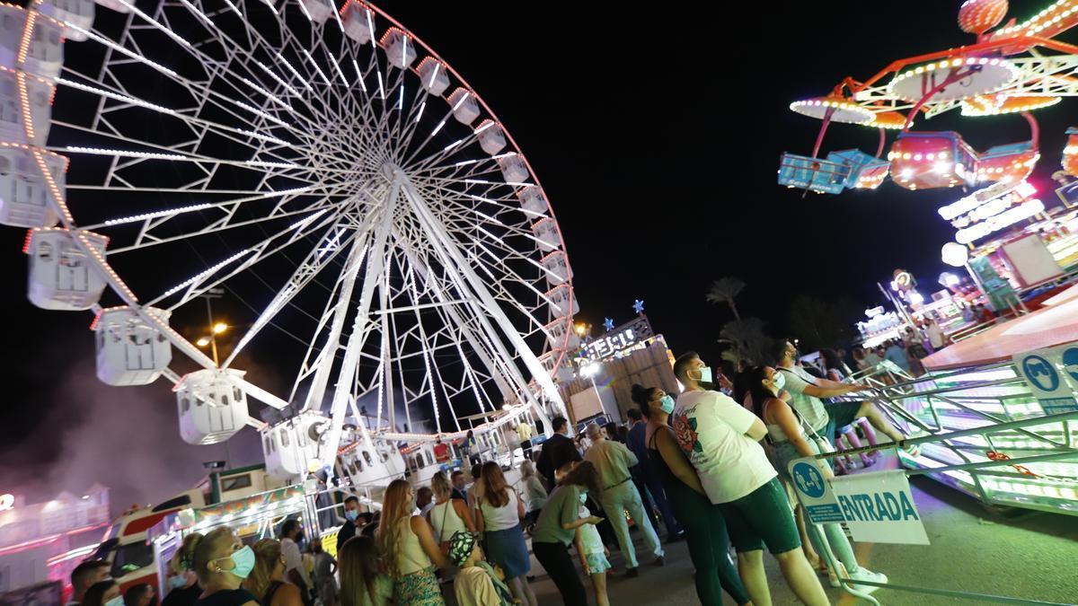 Feria de Murcia: feria de atracciones 2021