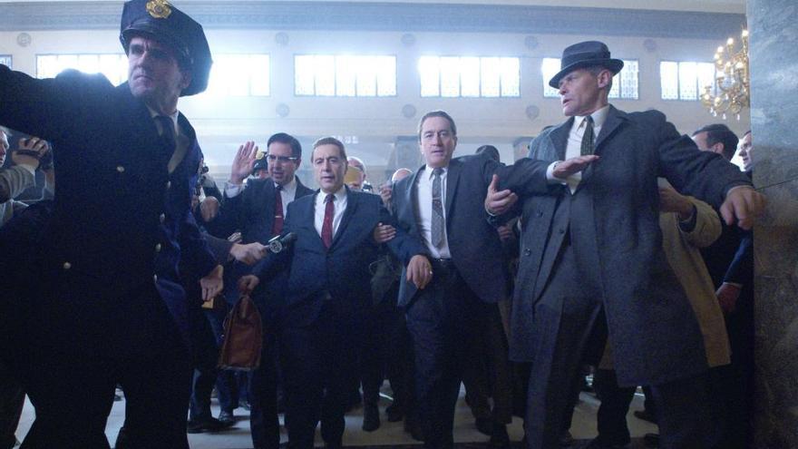 Así se luce Robert de Niro tras ser rejuvenecido por ordenador para 'The Irishman'