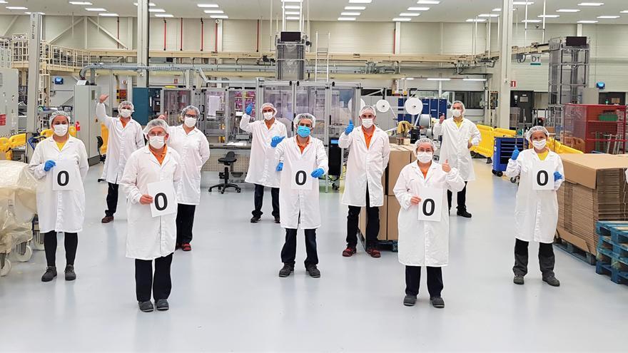 P&G dona 1,2 millones de mascarillas de su planta de Xixona a organizaciones sociales