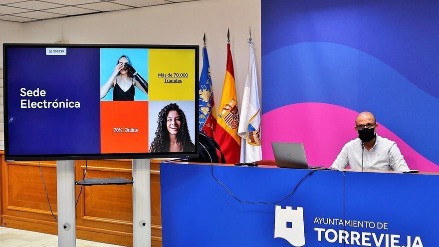El Ayuntamiento de Torrevieja estrena portal web tras 11 años sin renovarlo