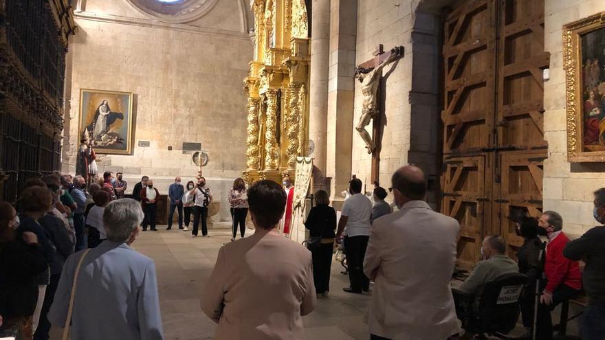 Toro revive la fiesta del Cristo del Amparo con actos adaptados a las medidas COVID