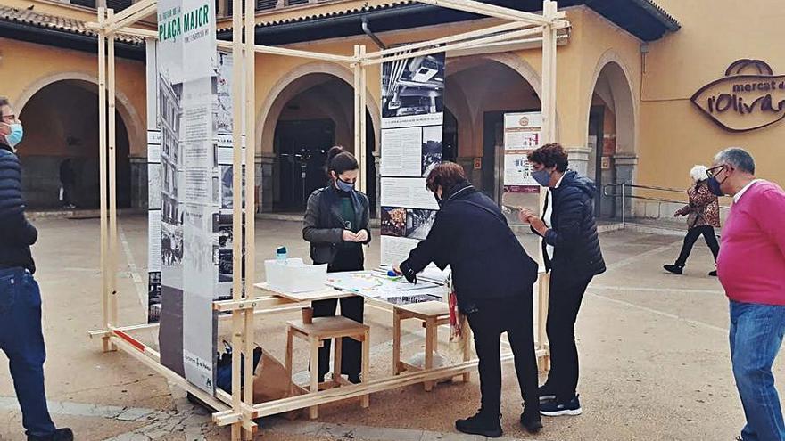 Lamentan el escaso tiempo para debatir el futuro de la plaza Major de Palma