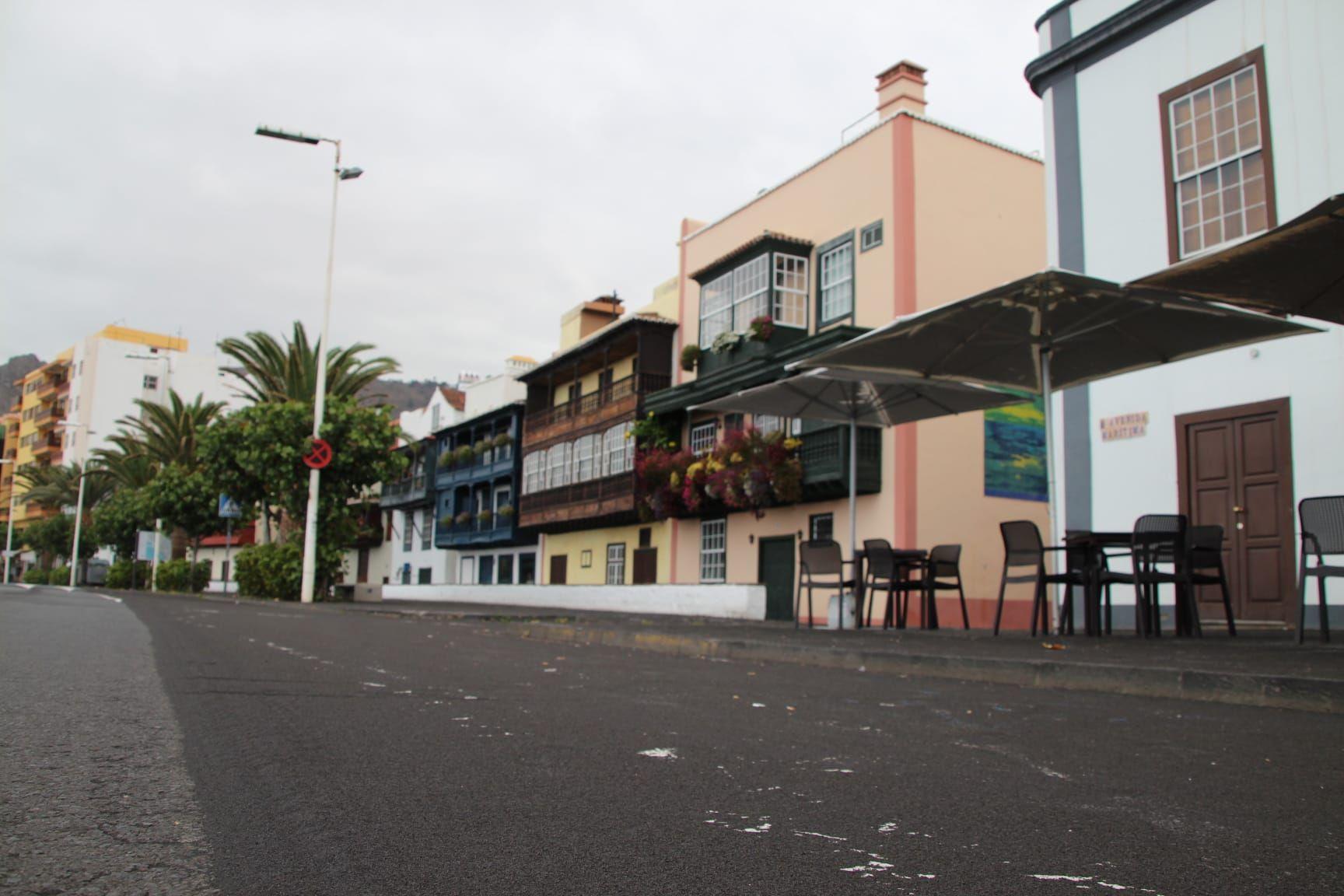 Las cenizas del volcán llegan a Santa Cruz de La Palma