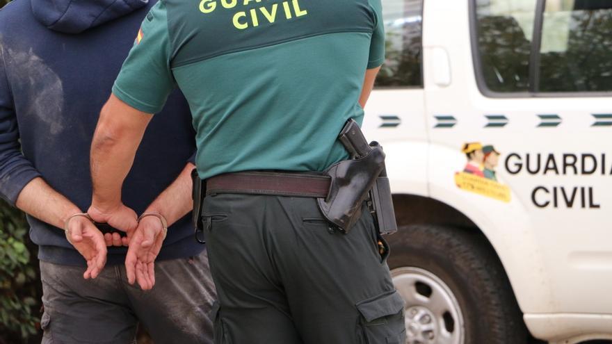 Dos detenidos en s'Arenal de Llucmajor por atacar a guardias civiles que mediaron en una pelea