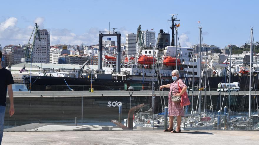 Sol y hasta 24 grados de máxima en A Coruña en pleno octubre