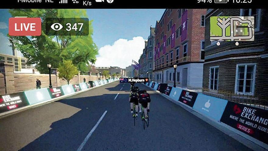 Jetzt können Hobby-Radler virtuell gegen Spitzensportler antreten