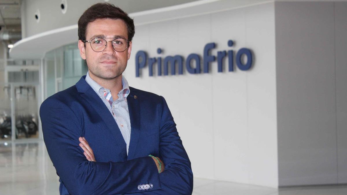 """Adrián Valverde, responsable de I+D+i. en Grupo Primafrio: """"Nuestra nueva sede central tiene capacidad para generar su propia energía"""""""