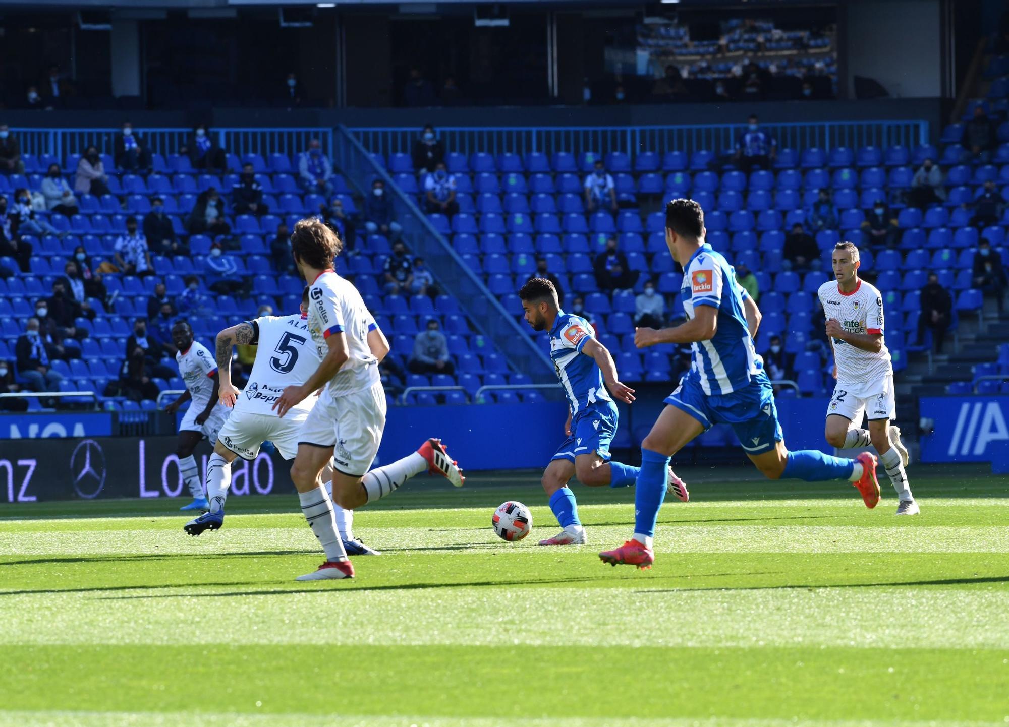 Deportivo 5 - 0 Langreo