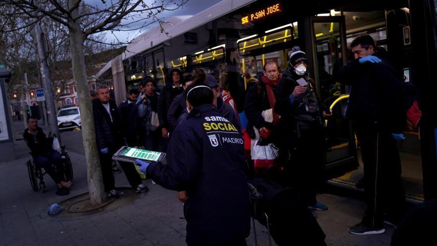 Segundo día de estado de alerta en Madrid