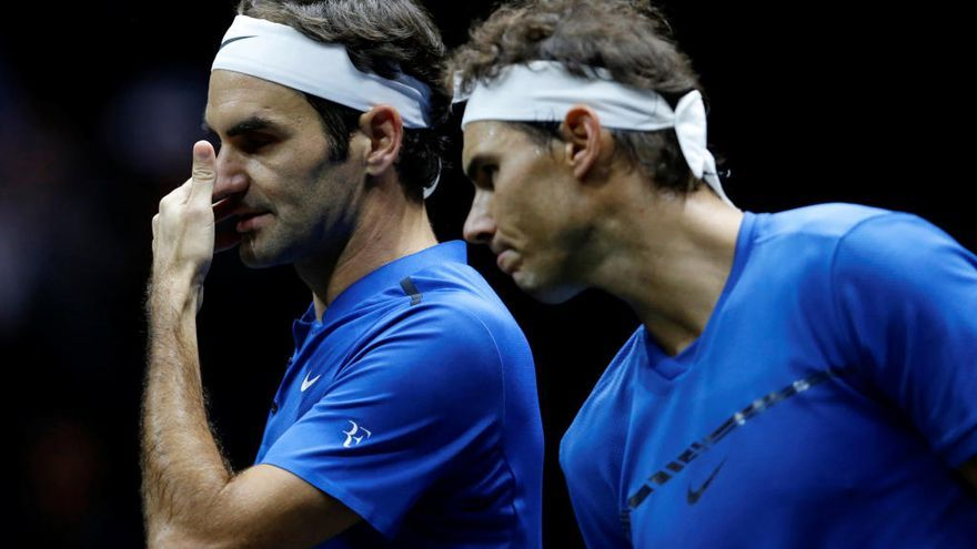 Federer pisa los talones a Nadal