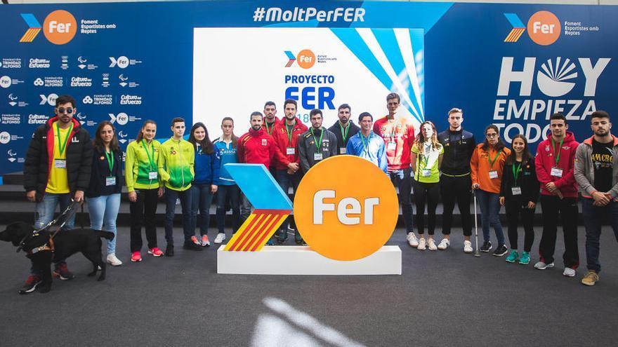 El Proyecto FER crece hasta 142 deportistas y 1,2 millones en ayudas