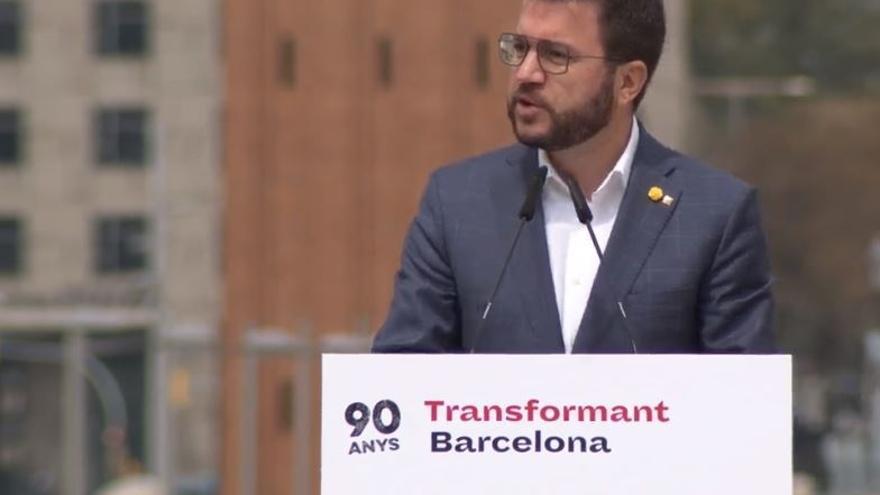 """Aragonès emplaza a Junts a """"dar el paso definitivo"""" que permita formar Govern"""