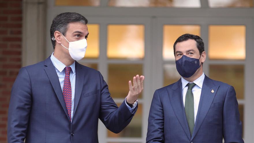 Juanma Moreno recurrirá al Estatuto de Autonomía para reclamar otra «mesa bilateral»