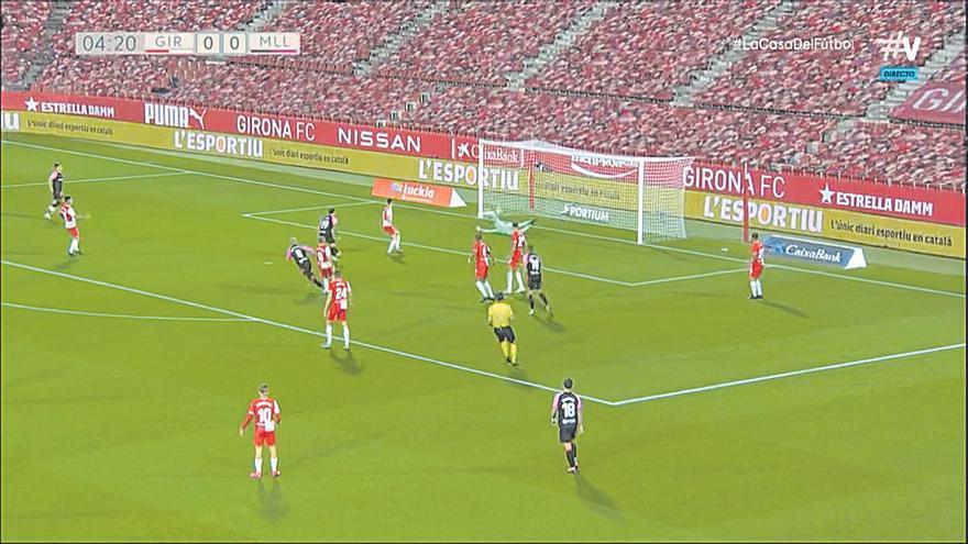 Gol del Real Mallorca al Girona: Una obra maestra en once toques
