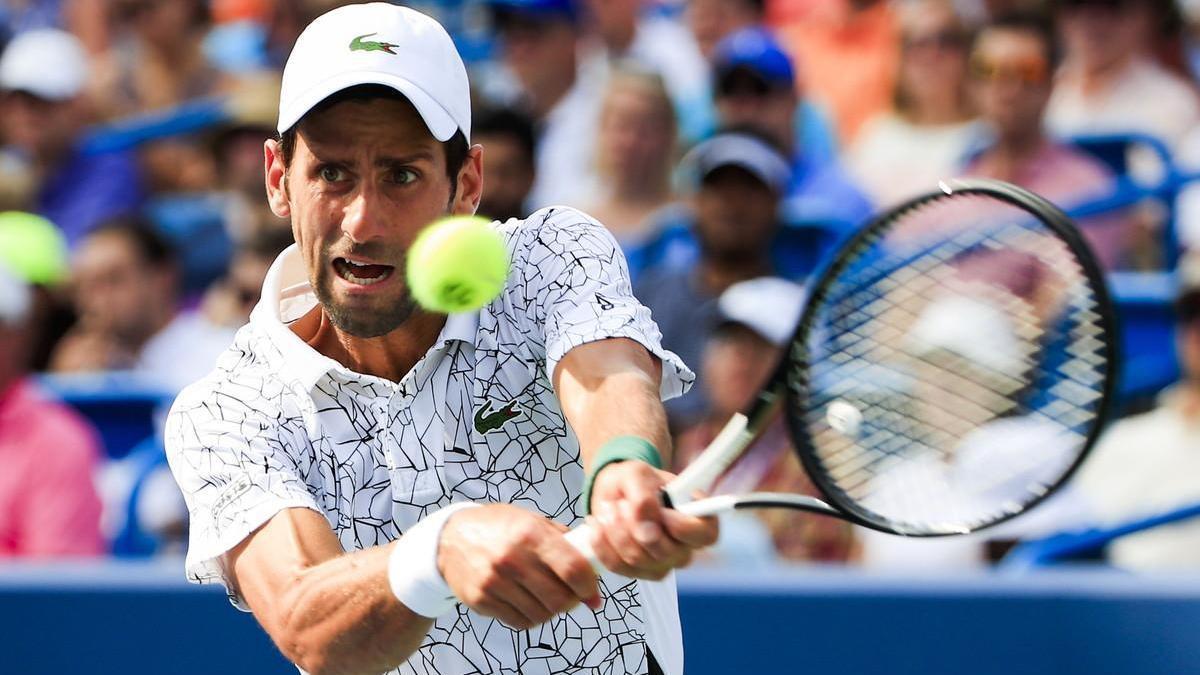 Djokovic rompe el maleficio y derrota a Federer en Cincinnati