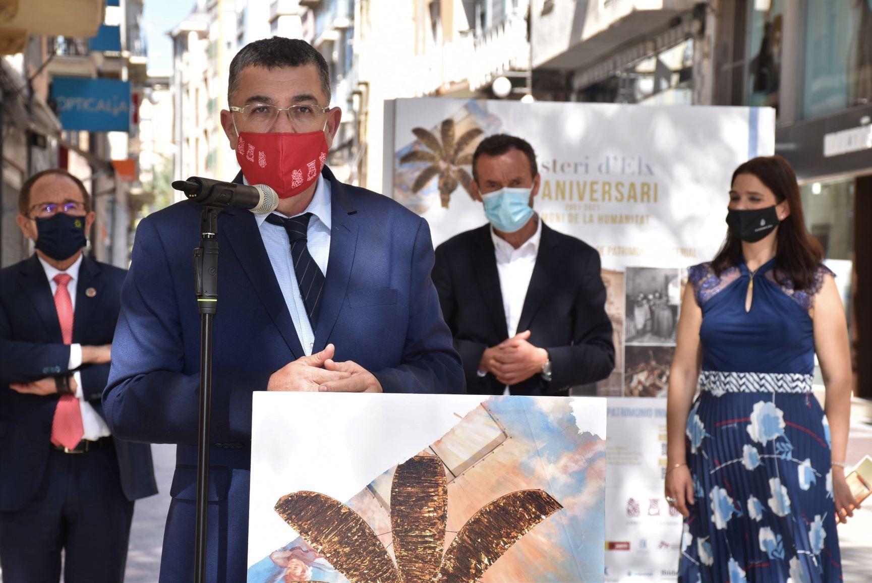 XX Aniversario de la Declaración del Misteri d'Elx como Patrimonio Oral e Inmaterial de la Humanidad por la Unesco