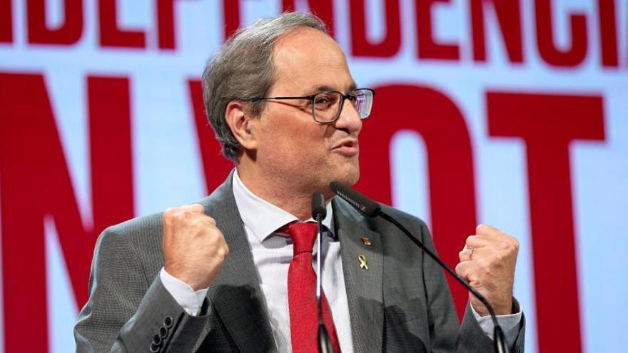La Junta Electoral estudia si destituir a Torra