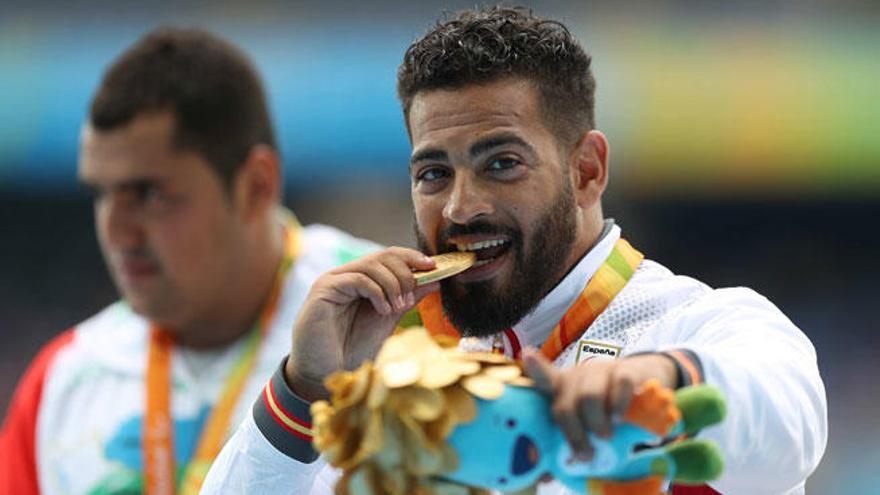 Kim López logra el oro en peso y da a España su primera medalla