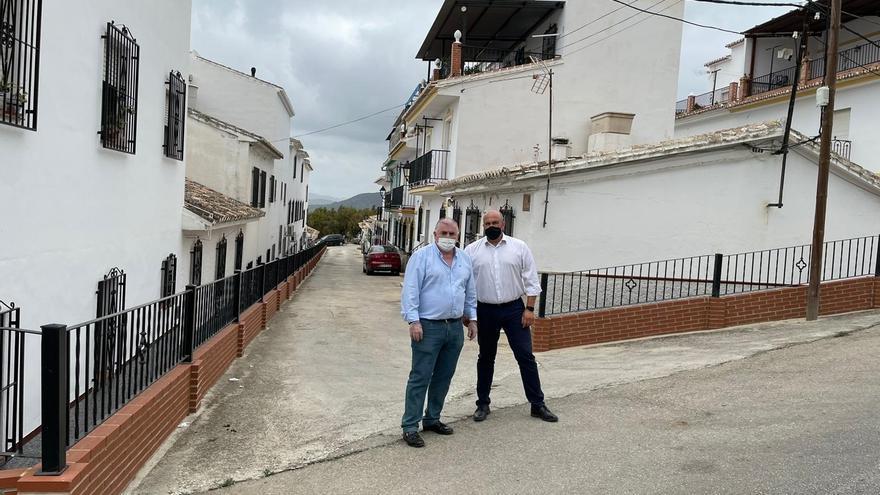 Periana y Canillas de Aceituno disponen de 160.000 euros de la Diputación para la mejora de sus infraestructuras