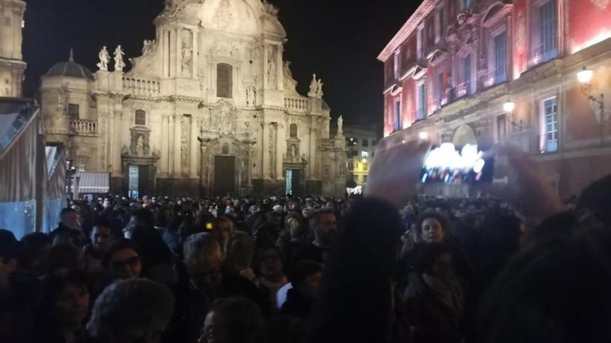 Mil personas se concentran en Murcia para reivindicar los derechos de la mujer