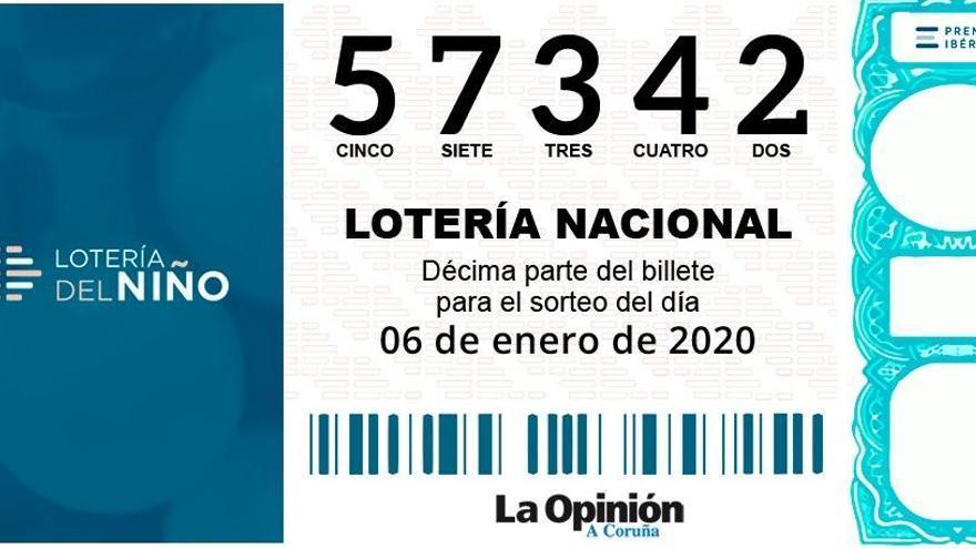 El 'gordo' de la Lotería del Niño viaja a Rianxo