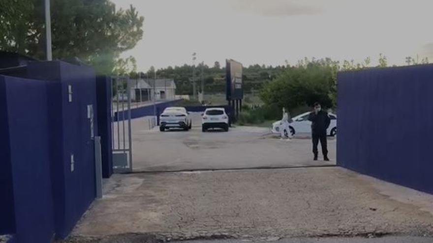Quico Catalán llega a la Ciudad Deportiva de Buñol