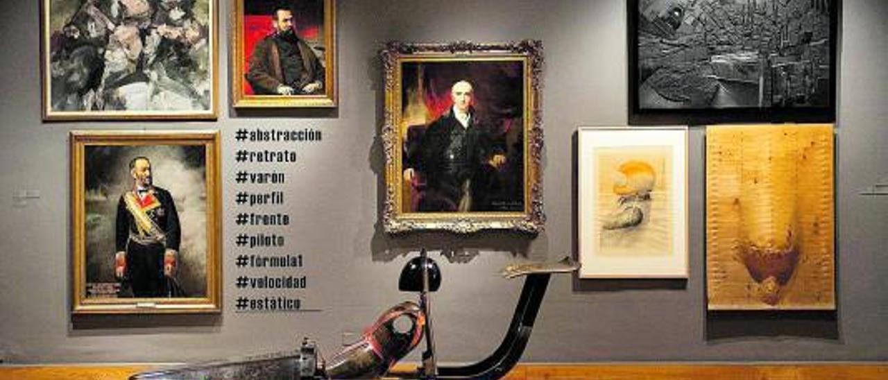 Imagen de la exposición de Paco Cao.