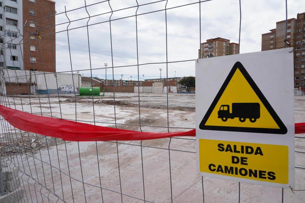 Obras paralizadas en Málaga tras la ampliación del decreto del Gobierno