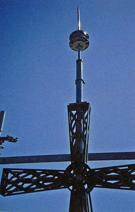 Reproducción de un detalle de la cruz