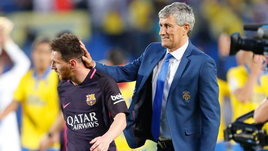 Setién asegura que la UD Las Palmas contactó con él para volver esta temporada