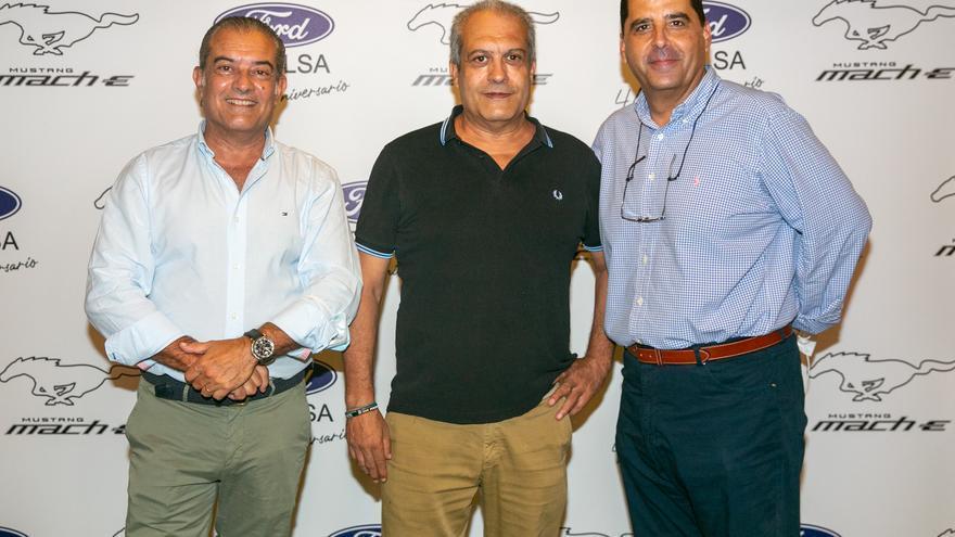 Presentación del Nuevo Ford Mustang presentado por Movilsa en torre de Rejas