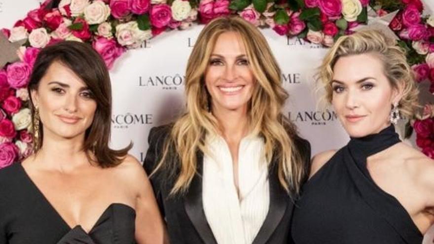 Penélope Cruz, Julia Roberts i Kate Winslet donen la nota