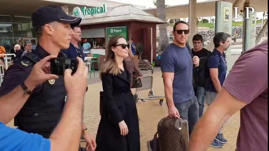 Angelina Jolie cambia Fuerteventura por Lanzarote