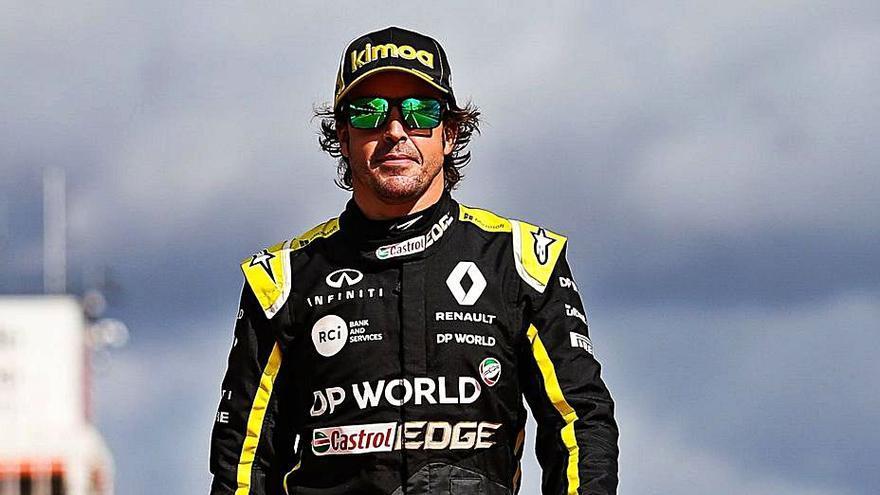 """El director deportivo de Renault elogia la """"ambición"""" de Alonso"""