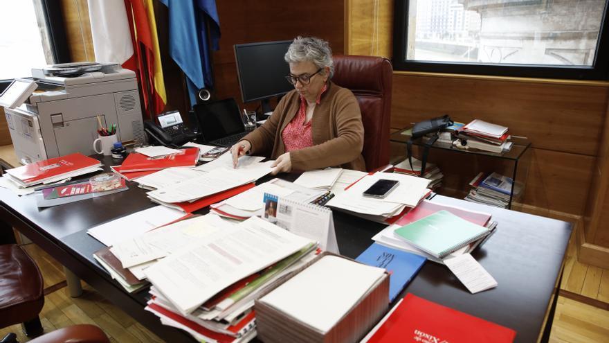 """La Alcaldesa advierte sobre la situación de la pandemia en Gijón: """"Es alarmante"""""""