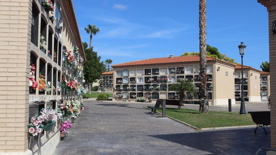 Control de accesos y horario ampliado en los cementerios de Benidorm y l'Alfàs por el Día de Todos los Santos