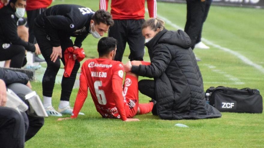 Zamora CF | Raúl Vallejo se pierde lo que resta de temporada