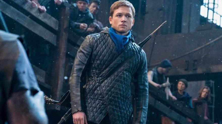 «Robin Hood»: Taron Egerton es posa en la pell de l'heroi