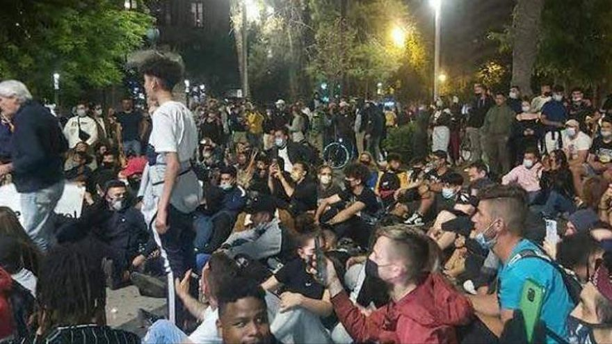16 Festnahmen nach Randale bei Corona-Protest auf Mallorca
