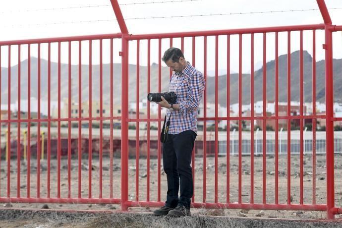 23-10-19 CANARIAS Y ECONOMIA. CABEZERA AEROPUERTO GRAN CANARIA. CARRIZAL.  Aviones militares. Esta semana están realizando maniobras militares en Canarias tropas de la OTAN. Fotos: Juan Castro.  | 23/10/2019 | Fotógrafo: Juan Carlos Castro