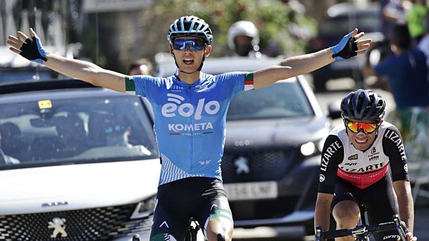 Eugenio Sánchez gana la Vuelta a Zamora en Lubián