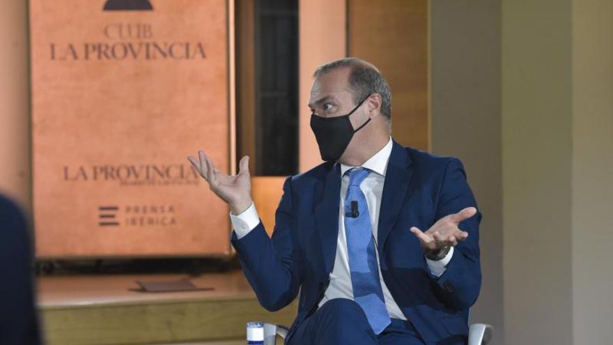 """Augusto Hidalgo: """"Hemos ganado prestigio en España y Europa, la financiación para los proyectos llegará"""""""