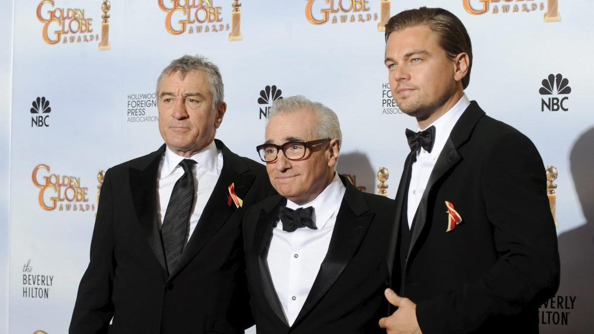 Una imagen de DiCaprio y Scorsese.