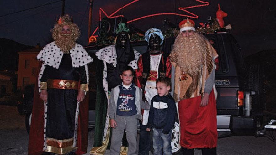 Los Reyes Magos de la Serranía